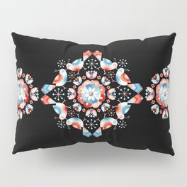 Lovebird Lattice Pillow Sham