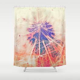Galaxy Calling Shower Curtain