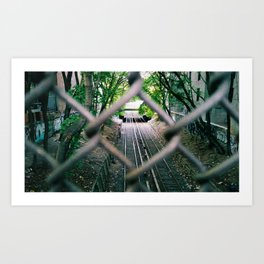 Brooklyn gates Art Print