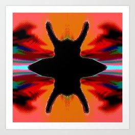 Internal Kaleidoscopic Daze- 20 Art Print