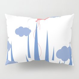 oops..airballoon stucking on the mountain! Pillow Sham