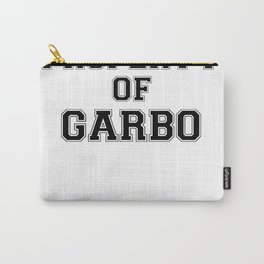 Property of GARBO Carry-All Pouch