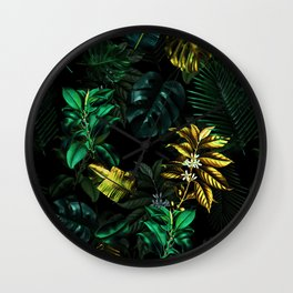TROPICAL GARDEN VIII Wall Clock