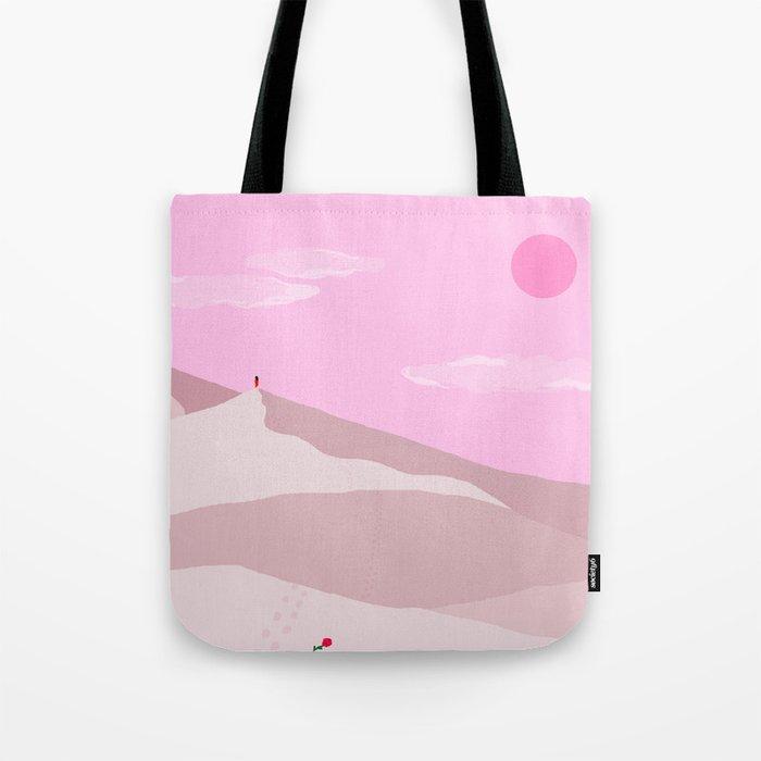 Sand Dunes // Full Moon Tote Bag