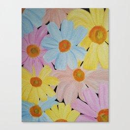 Daisy's Galore Canvas Print