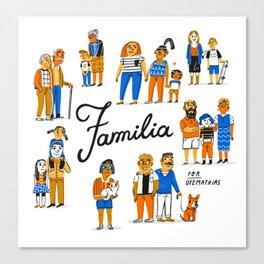 Familia Canvas Print