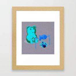 Snack Time! Framed Art Print