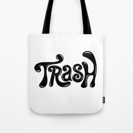 Trash Type Tote Bag