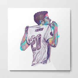 Real Madrid Asensio Metal Print