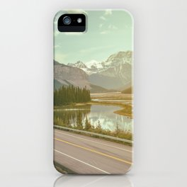 scenic road iPhone Case