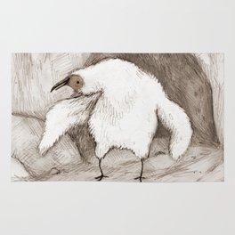 Vulture Chick Rug