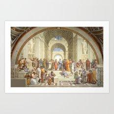 Raphael - School of Athens Art Print