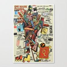 OM MANI PADME Canvas Print