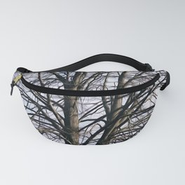Stained Glass Tree Fanny Pack