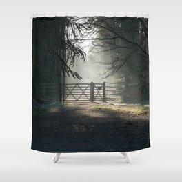 Sunlit Gateway 2 Shower Curtain