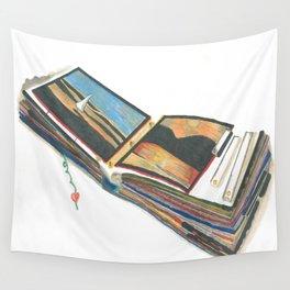 Scrap Book Wall Tapestry