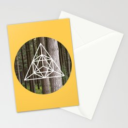 Geometric Forest Stationery Cards