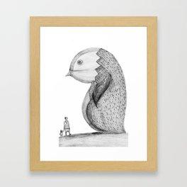 lost giant Framed Art Print