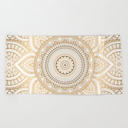 Radiant 02 Beach Towel
