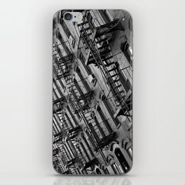 Fire escapes iPhone Skin