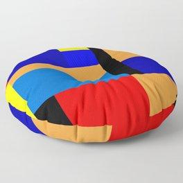 Mondrian #35 Floor Pillow