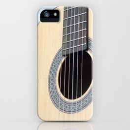 Classical Guitar iPhone Case