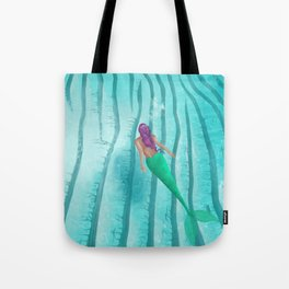 A Mermaid Swim Tote Bag