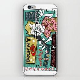 D-D-D Danny G! iPhone Skin