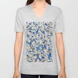 Thousand birds fly Unisex V-Neck