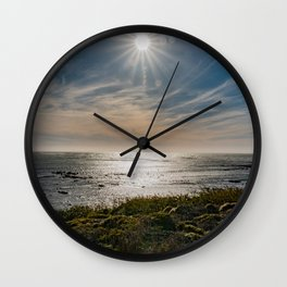 Sunstar Ano Nuevo State Reserve California Coast Wall Clock