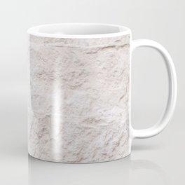 Creme Brick Wall Pattern Photo Art Print   Travel Photography Coffee Mug
