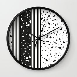 Woodlands Up Close- Abstract 2 Wall Clock