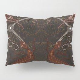 Three Billabongs - Australian Aboriginal Art Theme Pillow Sham