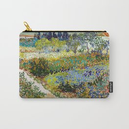 Vincent van Gogh Garden at Arles Carry-All Pouch