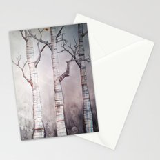 Birches Stationery Cards