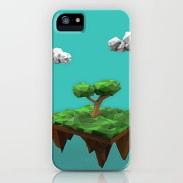 lowpoly summer iPhone Case