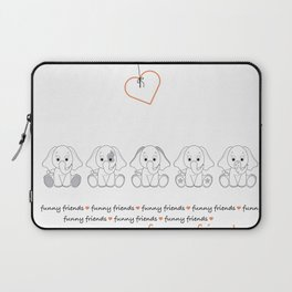 Baby Elephant Laptop Sleeve