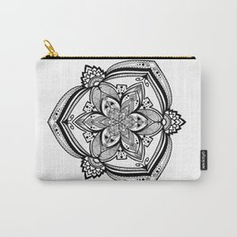 Flower in the Rough Mandala Carry-All Pouch