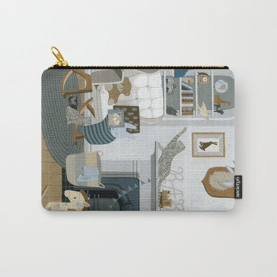 Baby Animal Nursery Carry-All Pouch