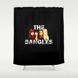 the bangles Shower Curtain
