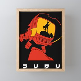 Canti Fooly Cooly Framed Mini Art Print