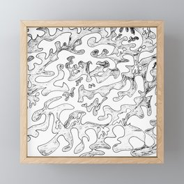 Allowing Help Framed Mini Art Print