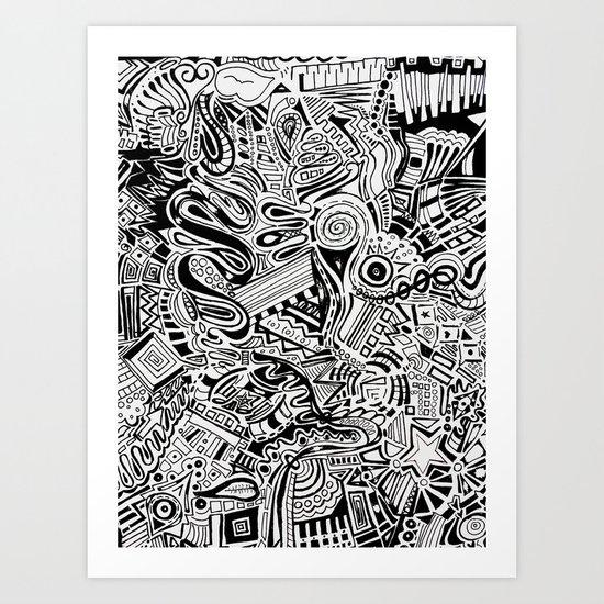 Inky \\ Art Print