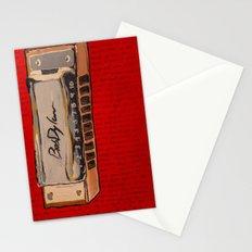 Bob Dylan's Harmonica  Stationery Cards