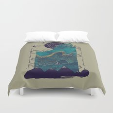 Northern Nightsky Duvet Cover