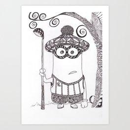 Mulligan Art Print
