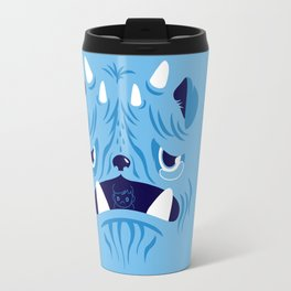 The Bluest Monster Ever :(( Travel Mug