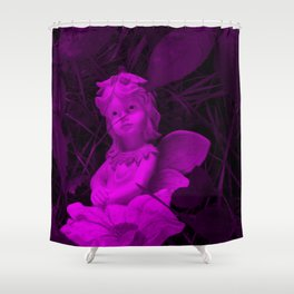 Broken Dreams In Purple Shower Curtain