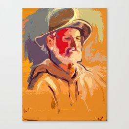Portrait of Wally Canvas Print