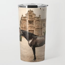 from andalusian breed begining. Spain Travel Mug
